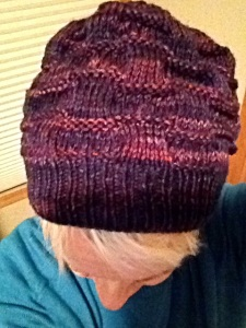 Intersect Hat Pattern by Lara Smoot / Yarn - Best Worsted Merino by Indieway Yarns